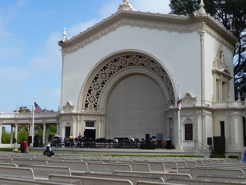 Spreckels Pavilion in Balboa Park
