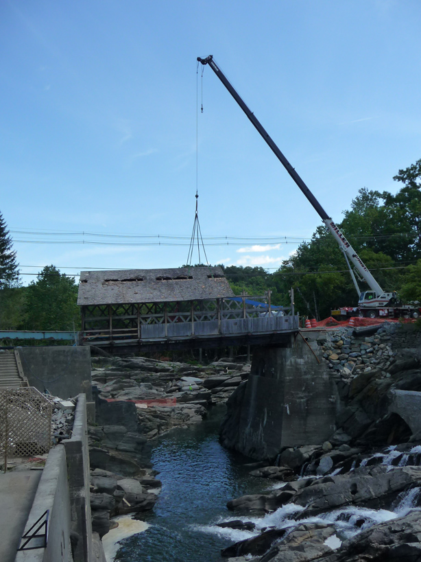Quechee Bridge restoration