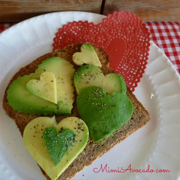 Let Me Call  You Sweetheart, Fuerte Avocados!