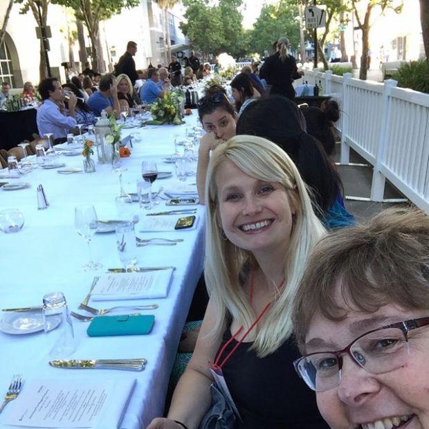 Farm To Fork Dinner Mimi Avocado and Lori Rice