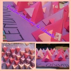 Las pirámides recicladas del #meetingmum de Marga para A y P
