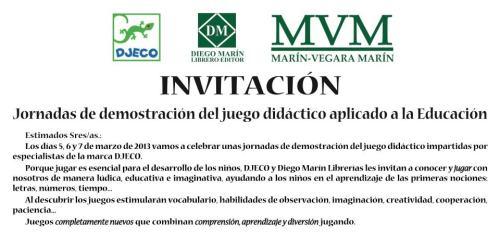 invitacion al evento