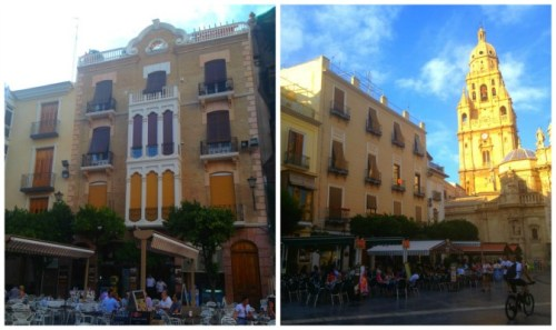 """Plaza Belluga y """"mi edificio"""" preferido de ella"""