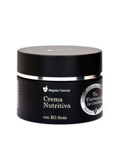 Crema Nutritiva EG Seda, mi regalito para mi rutina nocturna. Las edades con algo de edad como la mía, es lo que tienen