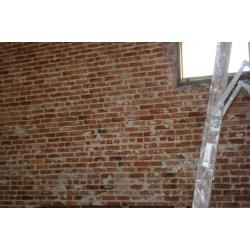 Small Crop Of Fake Brick Wall