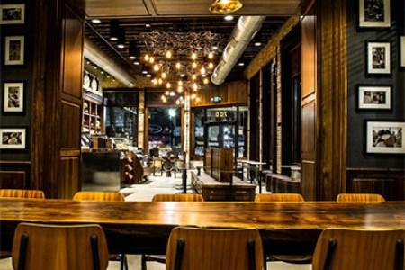 cafe interior design lighting 2