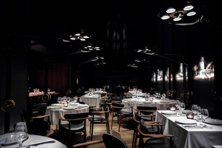restaurant interior design lighting2