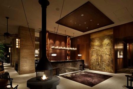hotel interior design lounge room