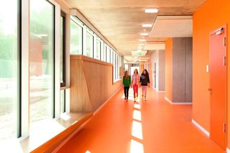 colors in school interior design