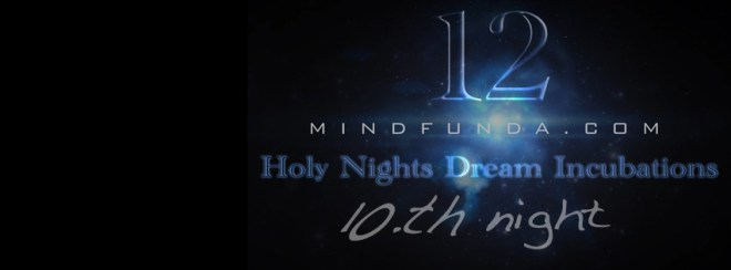 12 holy days - 10th night