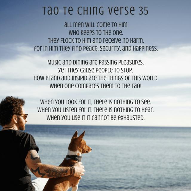 Tao te ching verse 35