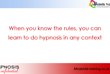 Hypnosis – It's not about the words