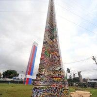 500.000 pièces de Lego: La plus haute tour Lego au monde