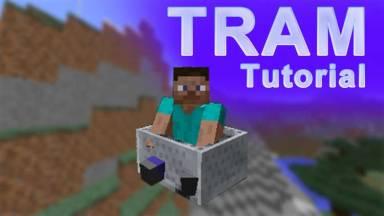 【Minecraft】トロッコとレールの種類と動かし方の見本2つ