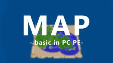 【マインクラフトPC PE】地図の作り方と拡張などの基本5つ