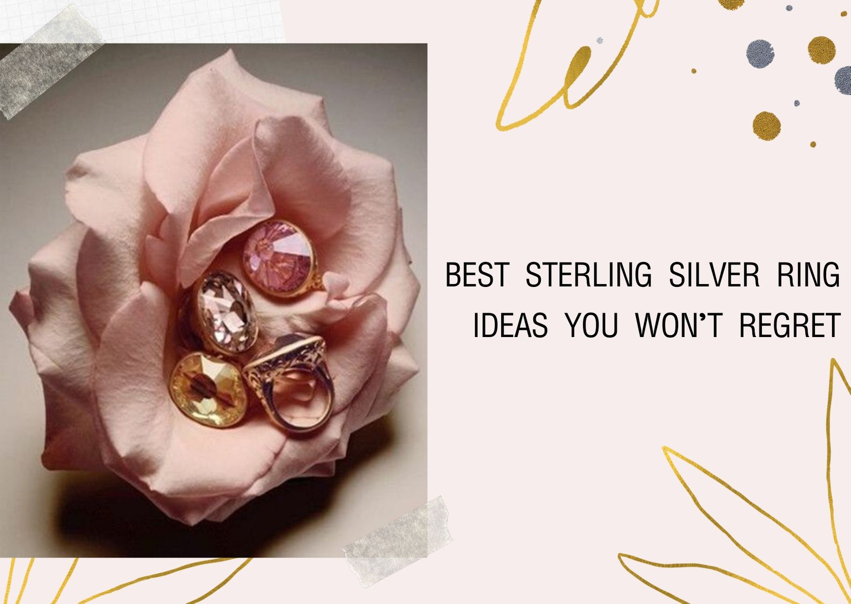 Best Sterling Silver Ring Ideas You Won't Regret