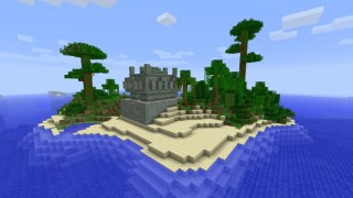 [PC 1.5] Jungle island with temple and stronghold