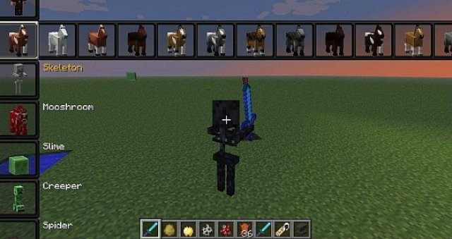 minecraft how to kill all entities except you