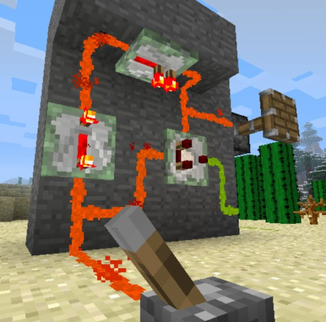 minecraft how to make a redstone torch turn off
