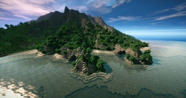 Minecraft Map With Lots Of Islands