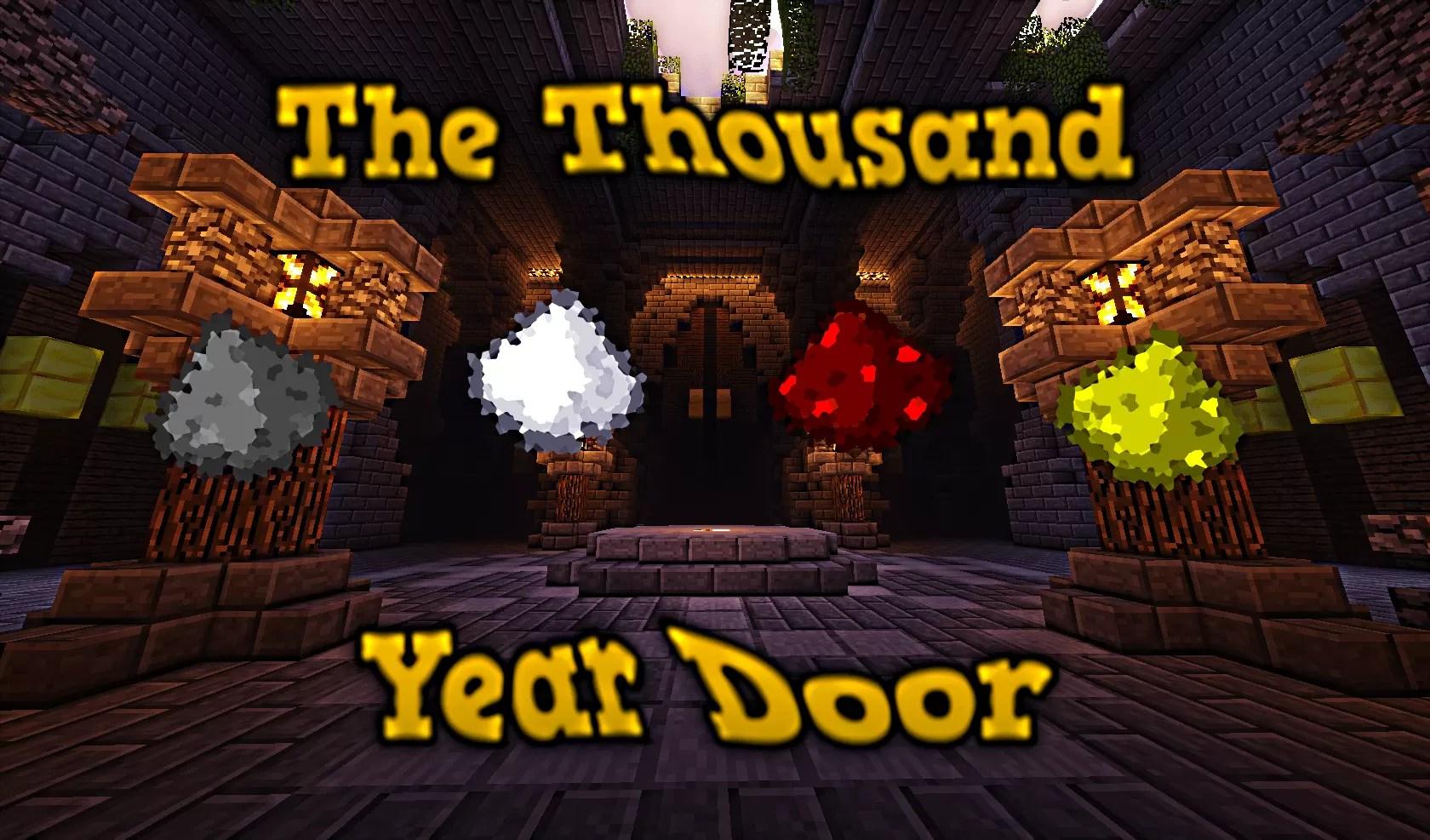 The thousand year door map for minecraft 1 8 9 minecraftsix for 1000 year door