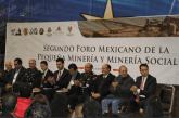 Realizan Foro Minero para fortalecer la pequeña minería y minería social en México