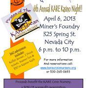 2013 Kasino Night flyer