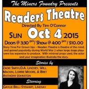 Reader's Theatre October