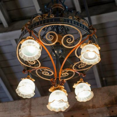 Stone Hall Chandelier