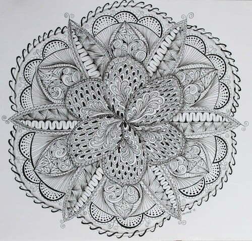 What is Zentangle? - Minette Riordan, Ph.D.