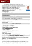 Modelo 2 - Gerador de Curriculum Vitae Online Com Foto Grátis