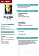 Modelo 7 - Gerador de Currículo Online Com Foto Grátis