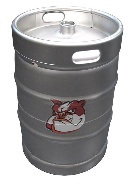 Kegs from Minhas Micro Brewery Calgary & Pizza Brew