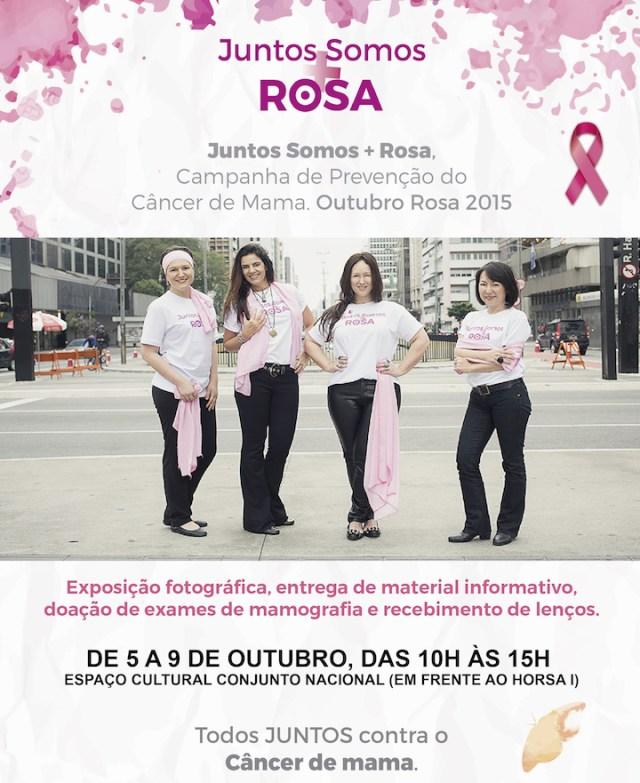 juntos somos rosa