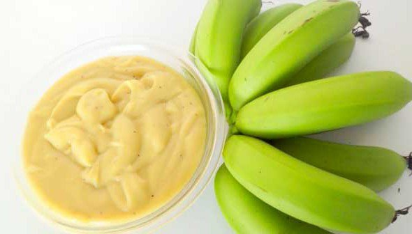 biomassa banana verde