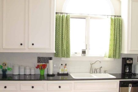 modern curtains for kitchens of today