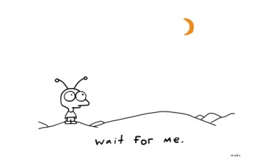 Wait for me - Moby
