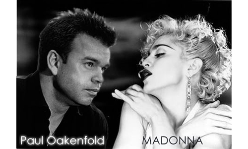 Madonna and Oakenfold