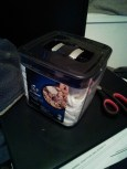 then I found a durable container