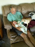 And hanging out with Gramps and Tobi