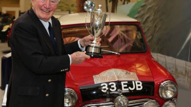 Can you believe it was 50 years ago Mini won the Monte Carlo with Paddy Hopkirk?