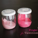 DIY Edible Finger Paint for Valentine's Day