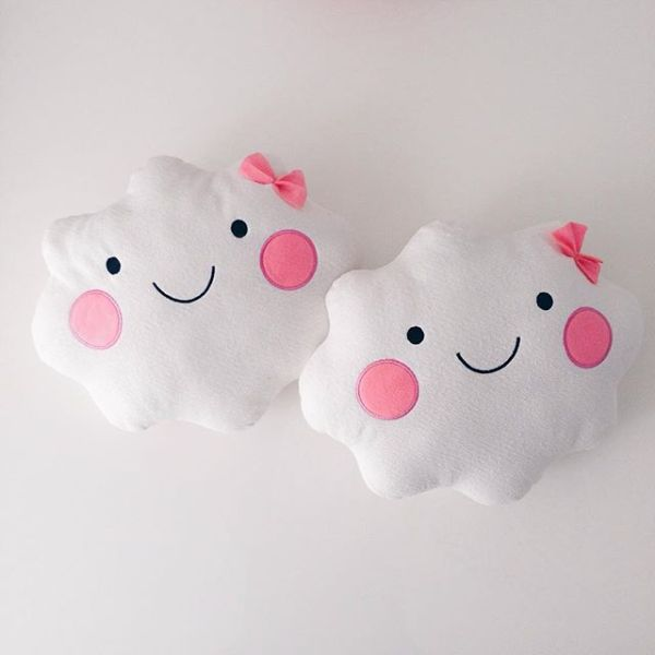 wolk kussen cloud cushion