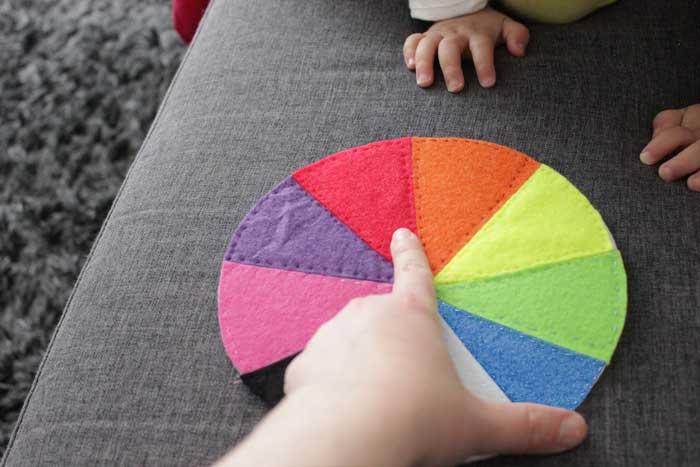 kleuren leren