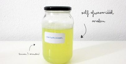 Zelf vaatwasmiddel maken (zonder Borax) | DIY