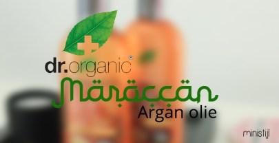 Dr. Organic arganolie shampoo en conditioner | review