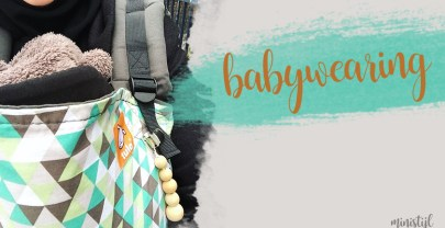Baby dragen in draagdoek – de voordelen