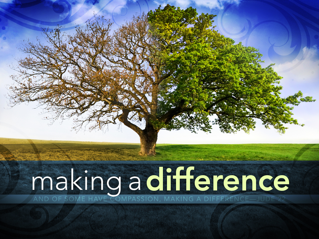 Making a Difference   Ministry127