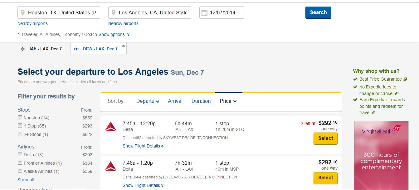 how to change flight on expedia