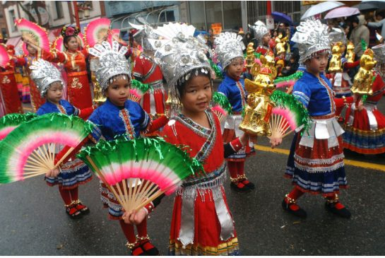 Chinese New Year children